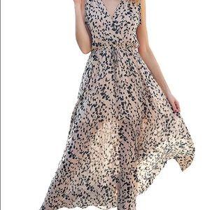 NWT Floral Maxi Dress